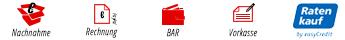Vorkasse Nachnahme Rechnung Bar Ratenkauf